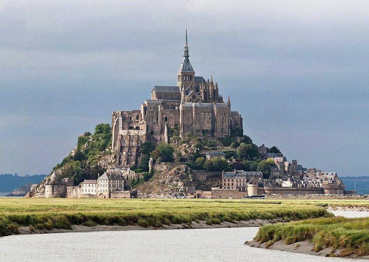 Загадочное Аббатство и монастыри Франции: Аббатство Мон Сен-Мишель